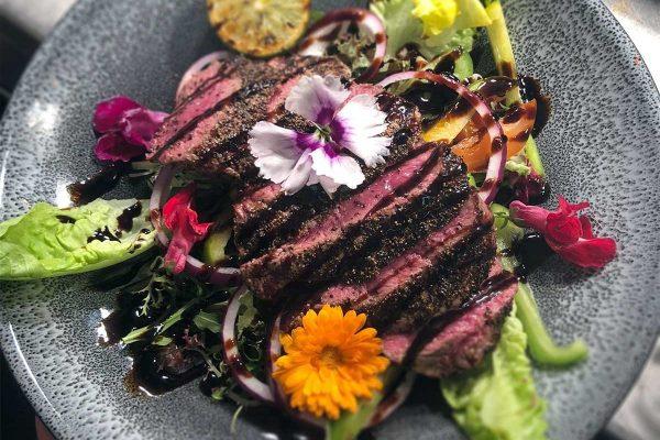 Cross-Keys-Steak-Salad